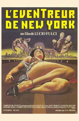 New York Ripper - 11 x 17 Movie Poster - French Style A