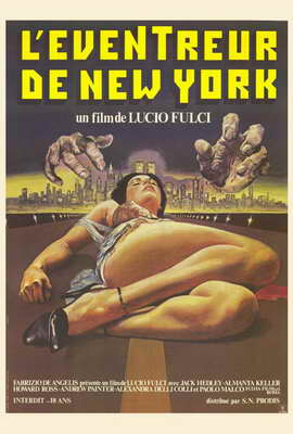 New York Ripper - 27 x 40 Movie Poster - French Style A