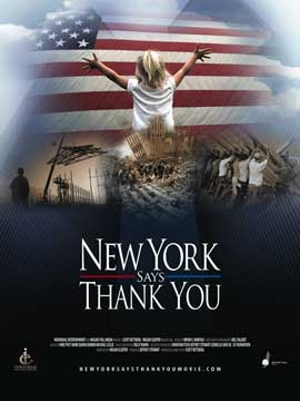 New York Says Thank You - 11 x 17 Movie Poster - Style A