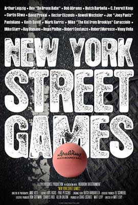 New York Street Games - 11 x 17 Movie Poster - Style A