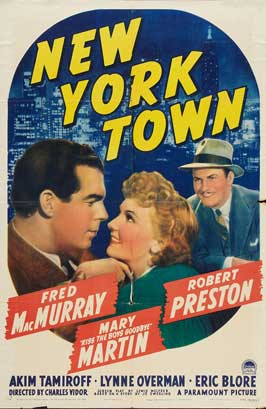 New York Town - 27 x 40 Movie Poster - Style A
