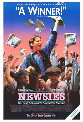 Newsies - 27 x 40 Movie Poster - Style B