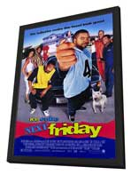 Next Friday - 27 x 40 Movie Poster - Style A - in Deluxe Wood Frame