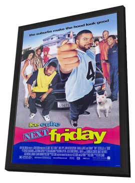 Next Friday - 11 x 17 Movie Poster - Style A - in Deluxe Wood Frame