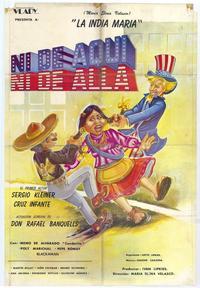 Ni De Aqui, Ni De Alla - 27 x 40 Movie Poster - Foreign - Style A