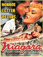 Niagara - 27 x 40 Movie Poster - Belgian Style A