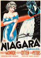 Niagara - 27 x 40 Movie Poster - Danish Style A