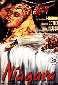 Niagara - 11 x 17 Movie Poster - German Style D
