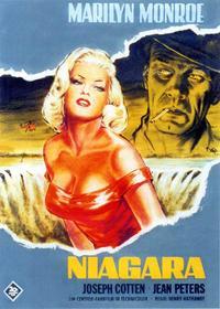 Niagara - 11 x 17 Movie Poster - Italian Style E