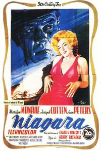 Niagara - 11 x 17 Movie Poster - Italian Style F