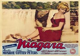 Niagara - 22 x 28 Movie Poster - Half Sheet Style A