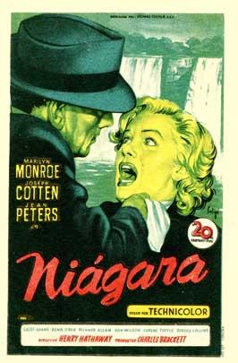 Niagara - 27 x 40 Movie Poster - Spanish Style A