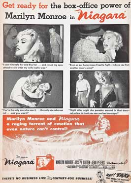 Niagara - 27 x 40 Movie Poster - Style D