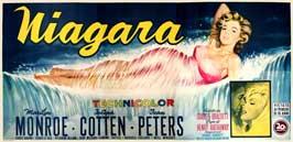 Niagara - 11 x 17 Movie Poster - Italian Style A