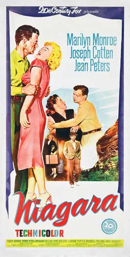 Niagara - 13 x 26 Movie Poster - Italian Style A