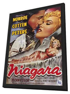 Niagara - 11 x 17 Movie Poster - Style A - in Deluxe Wood Frame