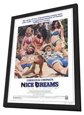 Nice Dreams - 27 x 40 Movie Poster - Style A - in Deluxe Wood Frame