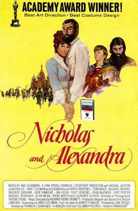 Nicholas and Alexandra - 27 x 40 Movie Poster - Style B