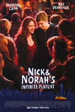 Nick and Norah's Infinite Playlist - 27 x 40 Movie Poster - Style A