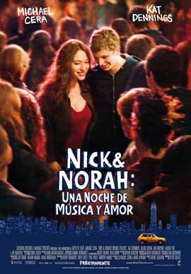 Nick and Norah's Infinite Playlist - 11 x 17 Movie Poster - Spanish Style A