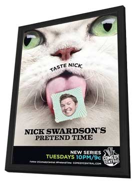 Nick Swardson's Pretend Time (TV) - 11 x 17 TV Poster - Style A - in Deluxe Wood Frame