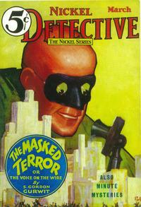 Nickel Detective (Pulp) - 11 x 17 Pulp Poster - Style A