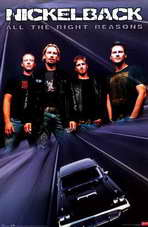 Nickelback - Music Poster - 22 x 34 - Style A