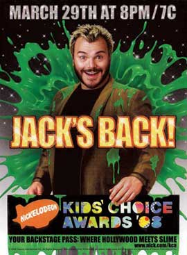 Nickelodeon Kids Choice Awards 2008 - 11 x 17 TV Poster - Style A