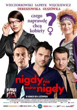 Nigdy nie mow nigdy - 11 x 17 Movie Poster - Polish Style A