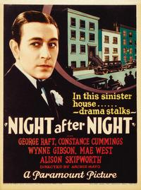 Night After Night - 11 x 17 Movie Poster - Style A