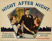 Night After Night - 11 x 14 Movie Poster - Style B