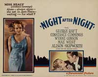 Night After Night - 11 x 14 Movie Poster - Style C