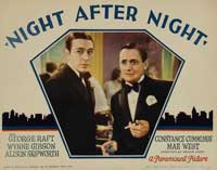 Night After Night - 11 x 14 Movie Poster - Style E