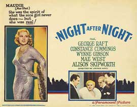 Night After Night - 11 x 14 Movie Poster - Style H