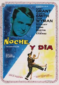 Night and Day - 11 x 17 Movie Poster - Spanish Style A