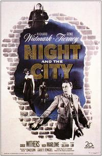 Night and the City - 43 x 62 Movie Poster - Bus Shelter Style A