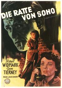Night and the City - 11 x 17 Movie Poster - German Style C
