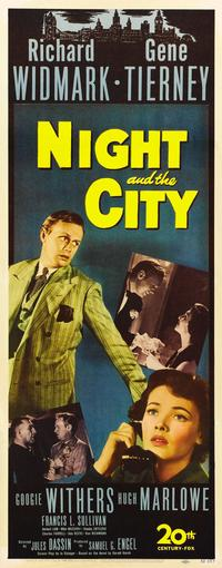 Night and the City - 14 x 36 Movie Poster - Insert Style A
