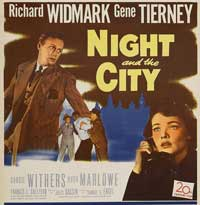 Night and the City - 11 x 17 Movie Poster - Style C