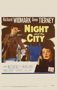Night and the City - 11 x 17 Movie Poster - Style D