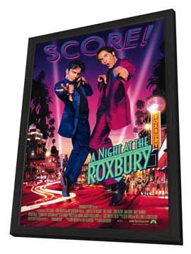 A Night at the Roxbury - 11 x 17 Movie Poster - Style A - in Deluxe Wood Frame