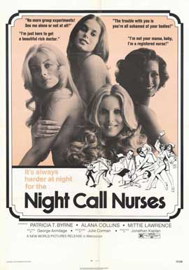 Night Call Nurses - 11 x 17 Movie Poster - Style A