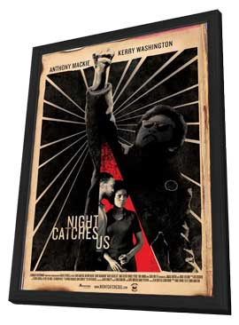 Night Catches Us - 27 x 40 Movie Poster - Style A - in Deluxe Wood Frame