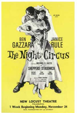Night Circus, The (Broadway) - 14 x 22 Poster - Style A