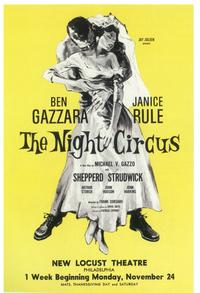 Night Circus, The (Broadway) - 11 x 17 Poster - Style A