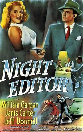 Night Editor - 11 x 17 Movie Poster - Style A