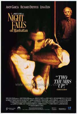 Night Falls on Manhattan - 11 x 17 Movie Poster - Style A