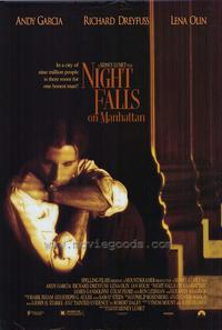Night Falls on Manhattan - 11 x 17 Movie Poster - Style B