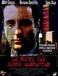 Night Falls on Manhattan - 11 x 17 Movie Poster - Spanish Style A