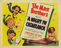 A Night in Casablanca - 30 x 40 Movie Poster - Style A